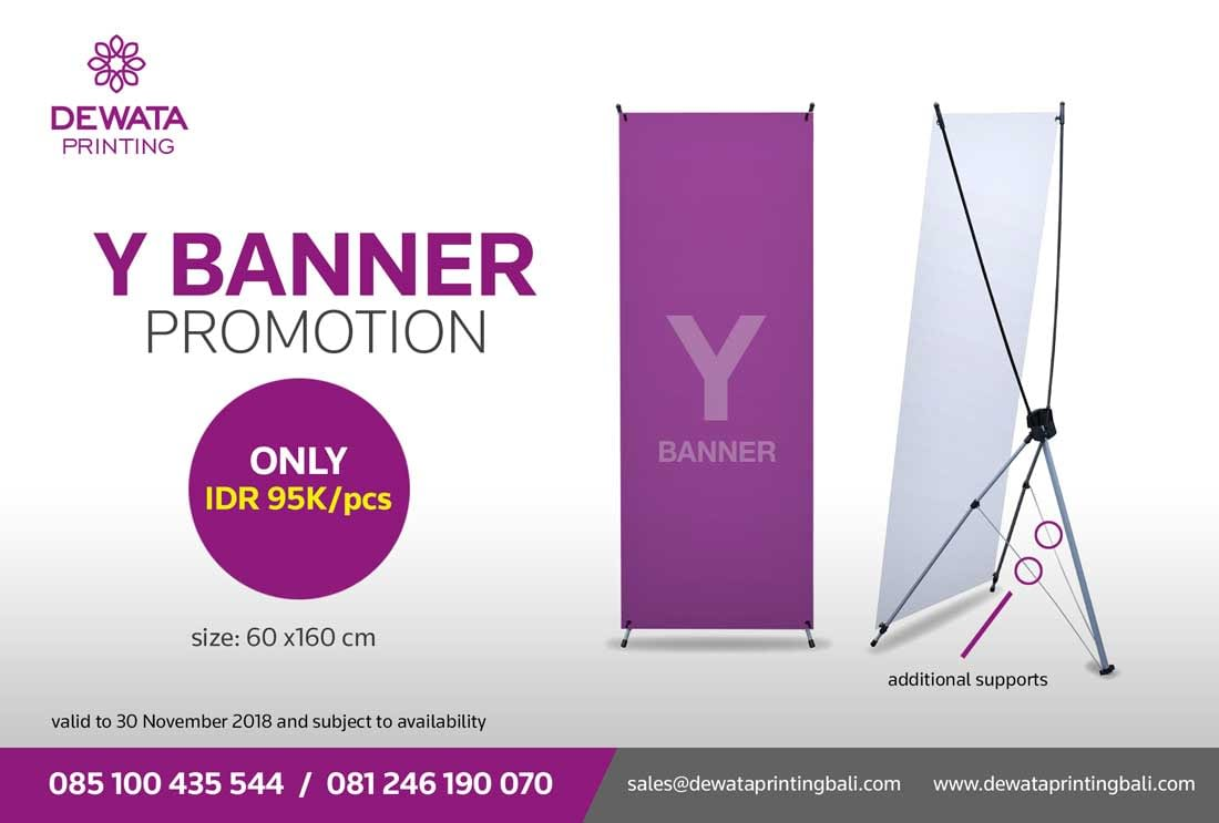 Y-Banner Promotion – Limited Offer