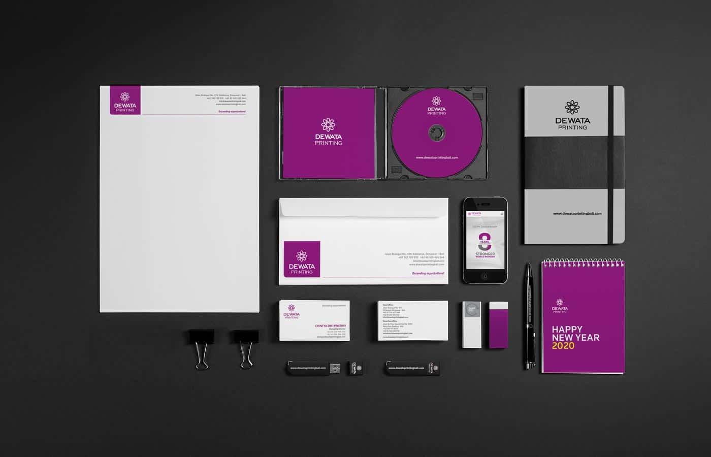 610designs - branding dewata printing