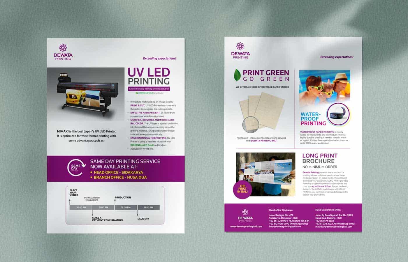 flyer dewata printing