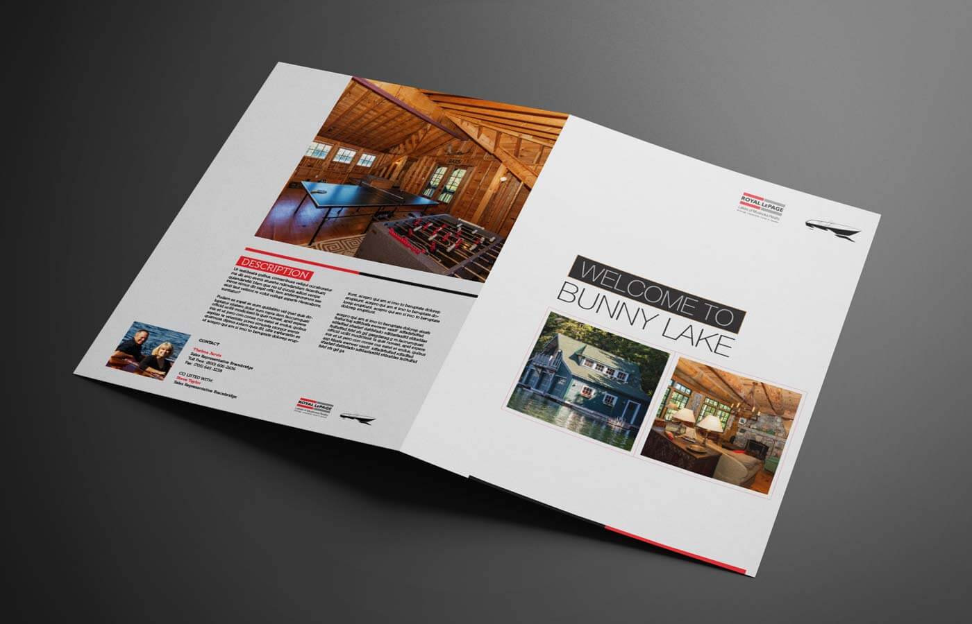 luxury property brochure